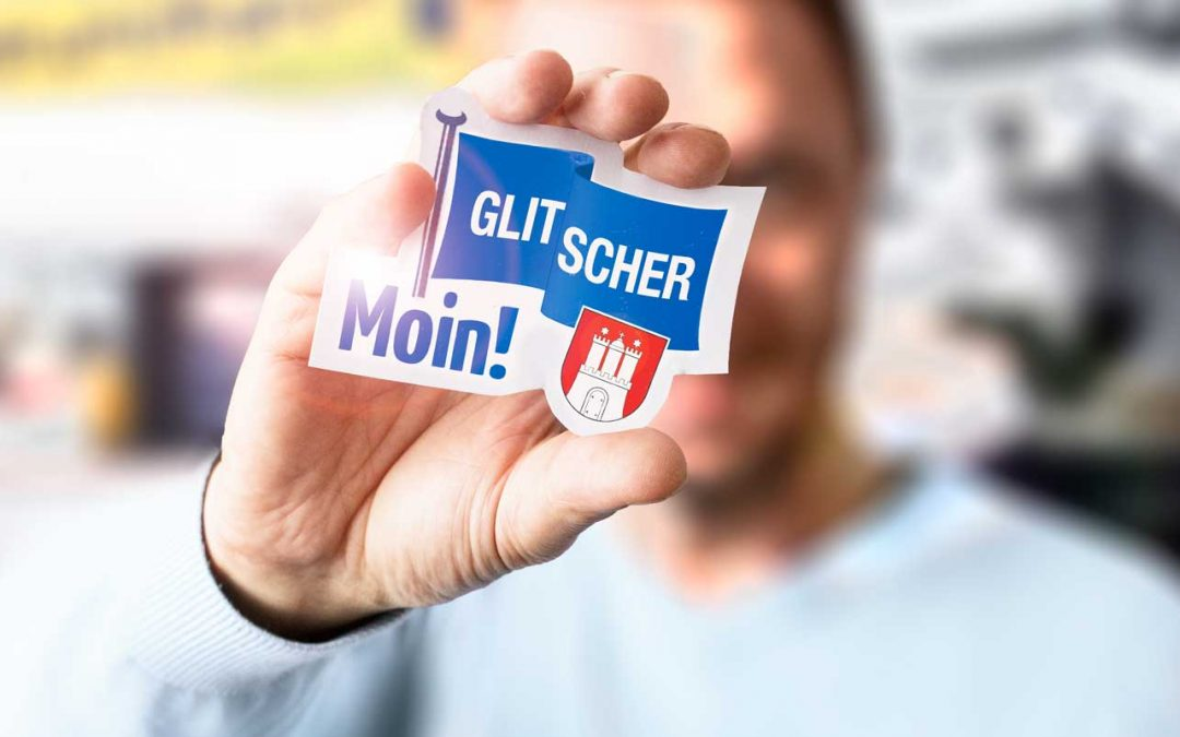 Glit­schers neue Web­site